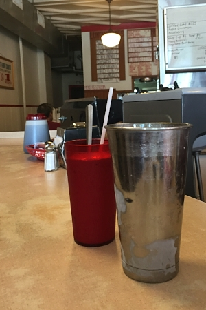 Milkshakes at Mickie's Dairy Bar