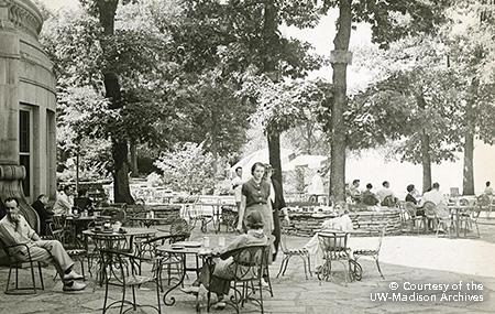 Memorial Union Terrace 1930