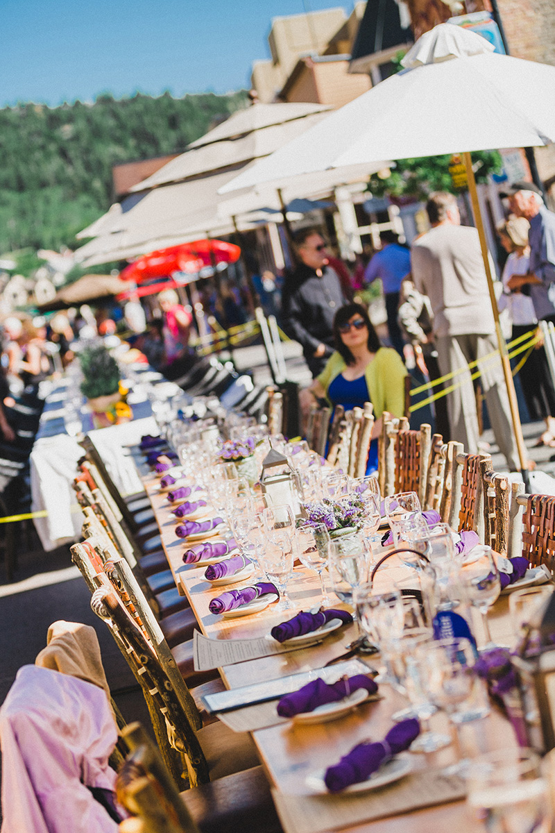 The Grand Table Event in Park City, UT.
