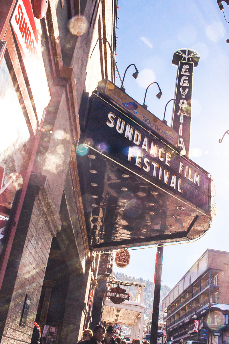 Theater at the Sundance Film Festival