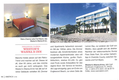 Weston's Wanna B Inn in American Journal
