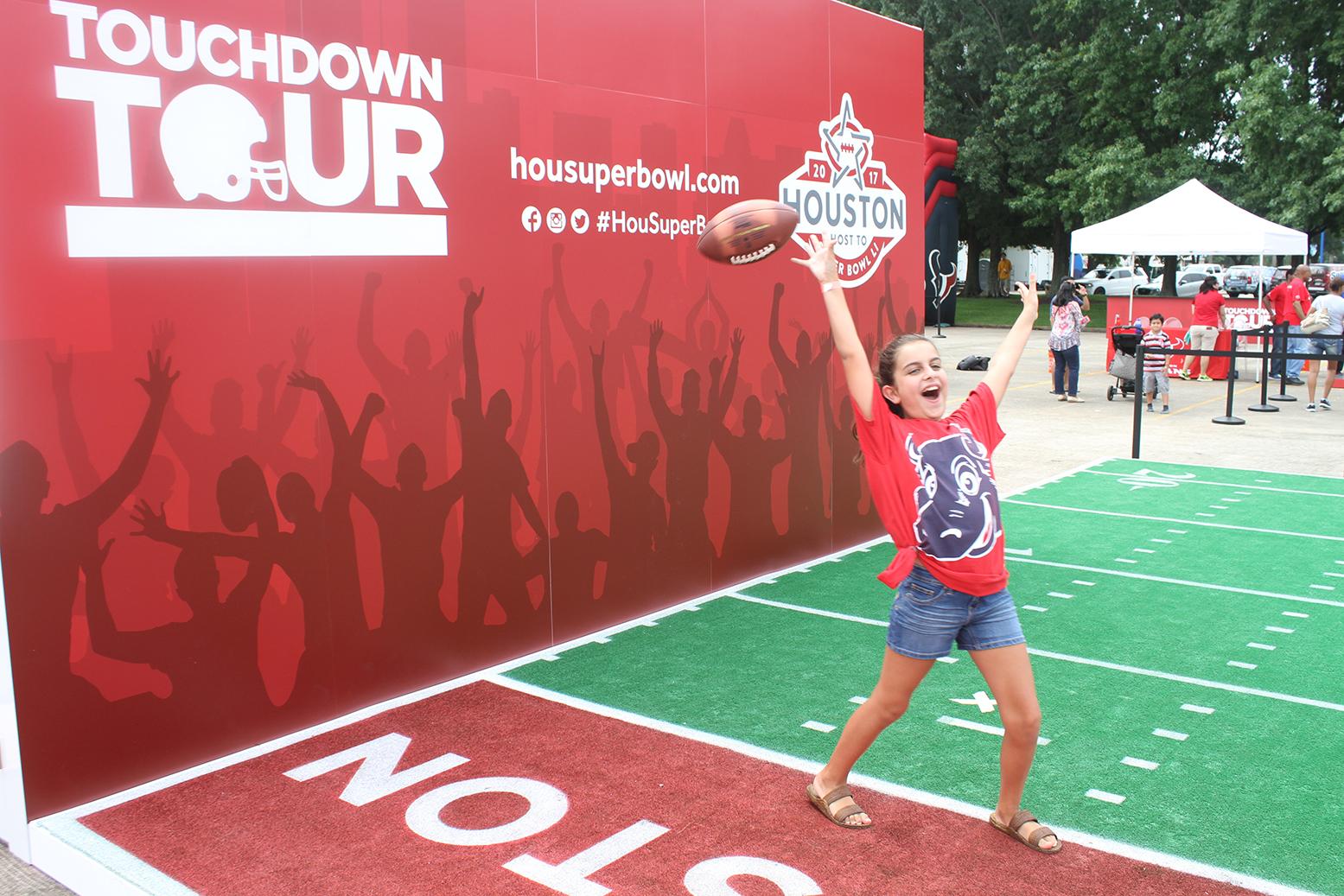 super bowl touchdown tour