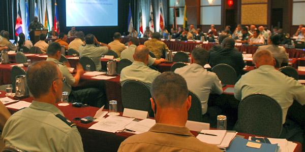 military meeting