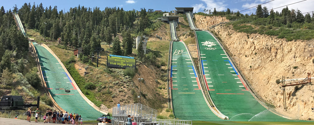 Ski Jumps at Utah Olympic Park