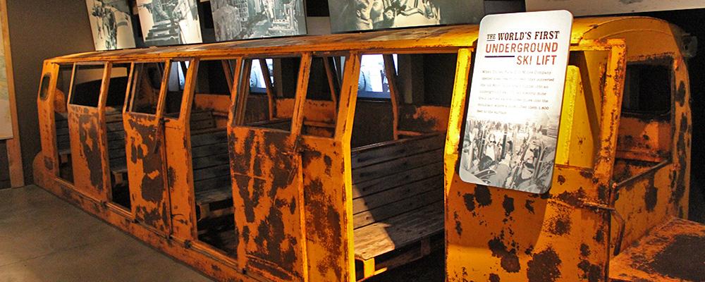 Park City mining train