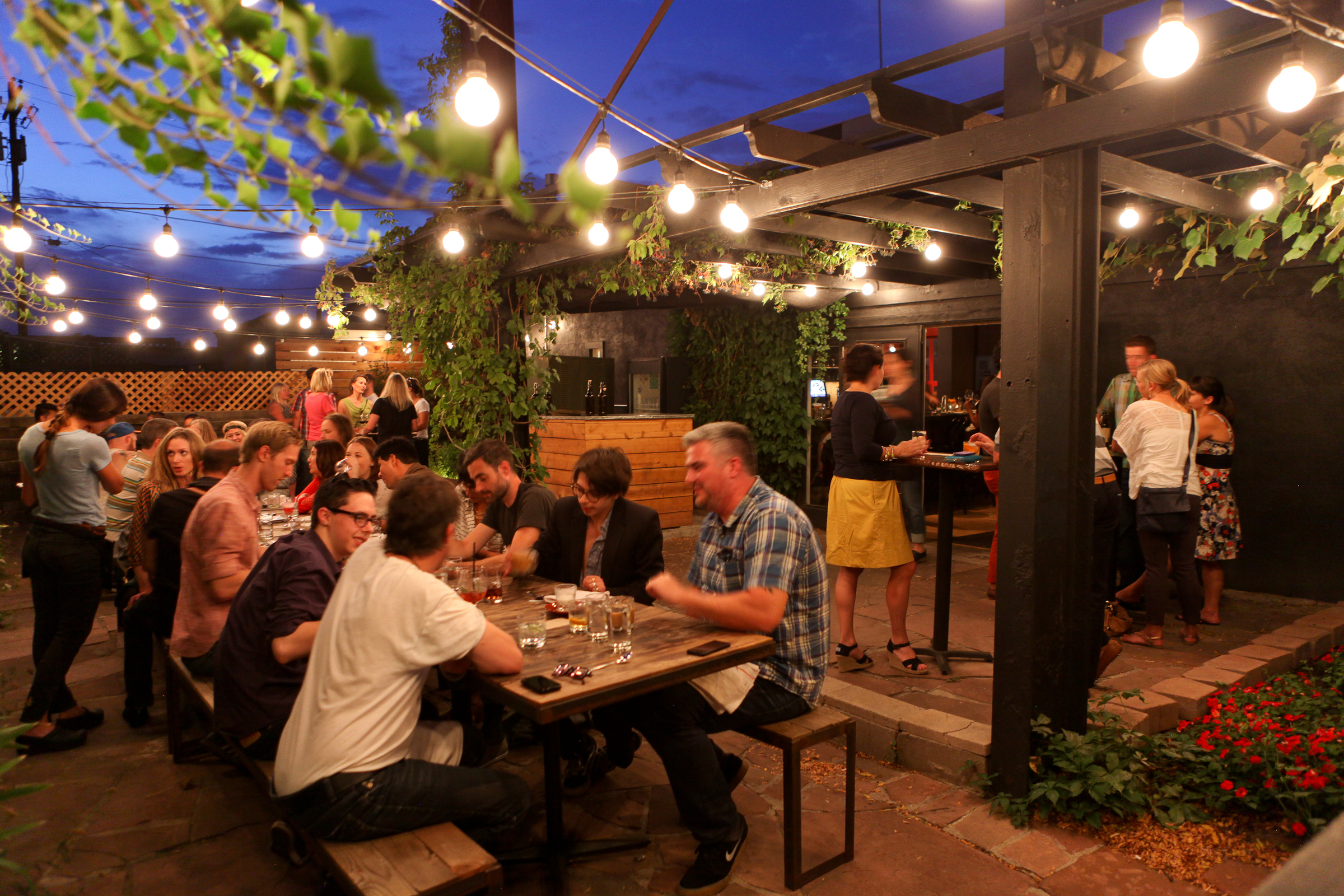 best outdoor dining in denver visit denver - Restaurant Patio