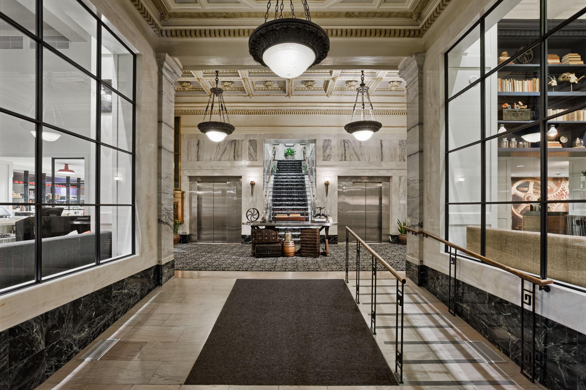 Hotel Entrance Foyer : Downtown hotel stats visit denver