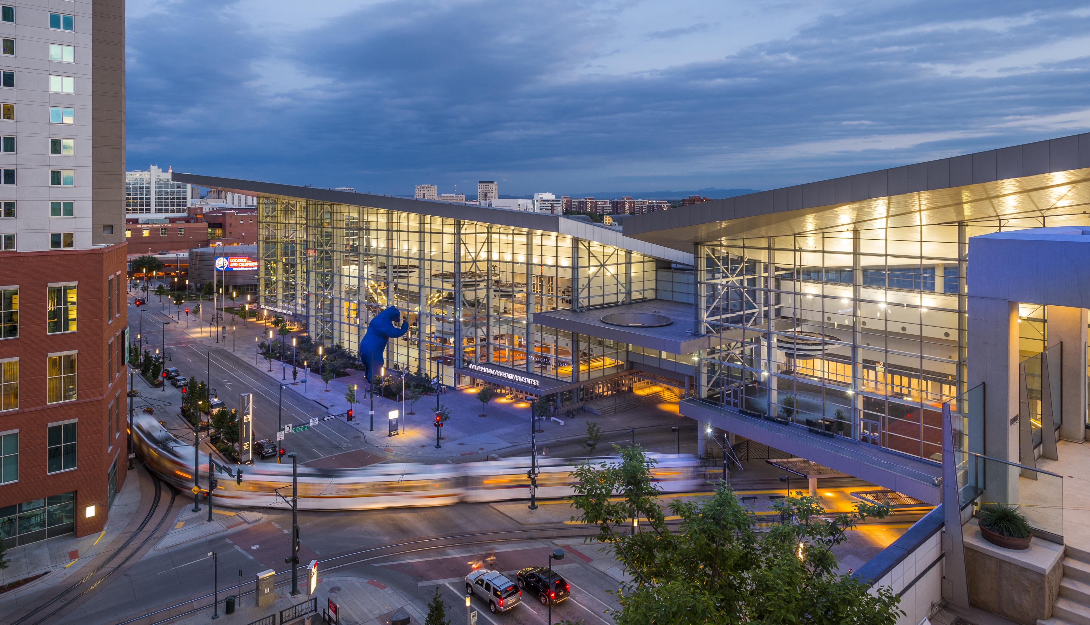 colorado convention center expansion visit denver