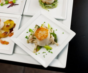Scallops at Market Table Bistro in Lovettsville, one of Loudoun's fourteen destination restaurants.