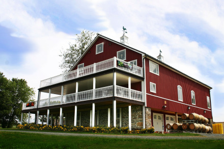Sunset Hills winery barn