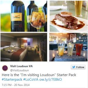 """I'm Visiting Loudoun"" Starter Pack"