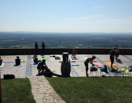 Loudoun Craft Brewery Yoga