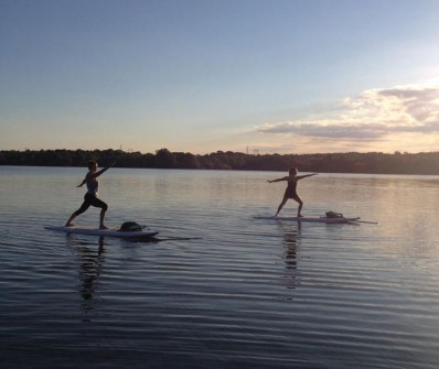 Stand Up Paddle Board Yoga in Loudoun