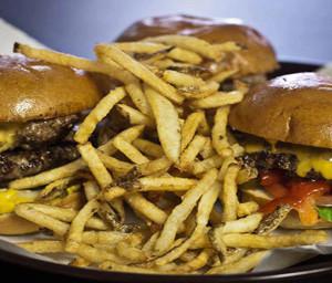 market burger food 2