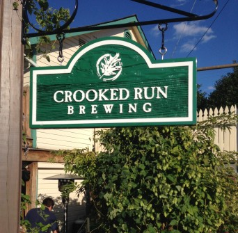 Crooked Run has a perfectly tucked away patio
