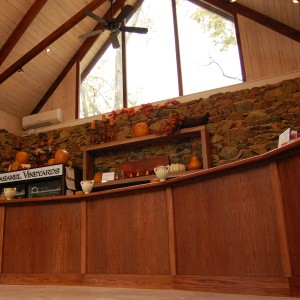 Casanel Vineyards Tasting Bar