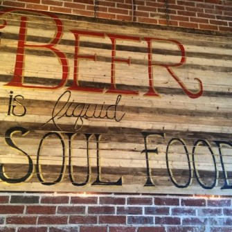 Belly Love's provides a soulful atmosphere for tastings.