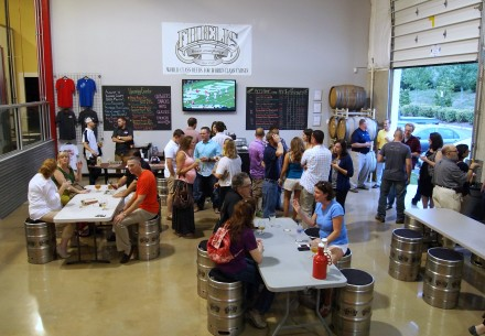 Beltway's tasting room is Loudoun's closest to DC. Photo credit Thomas Cizauskas