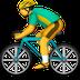emoji biking