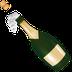 emoji champagne