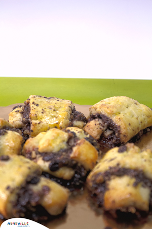 Raspberry Rugelach #Recipe | ExploreAsheville.com