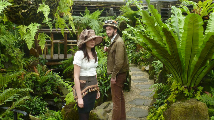 Morris Arboretum hosts a STEAMPunk Expo this weekend.