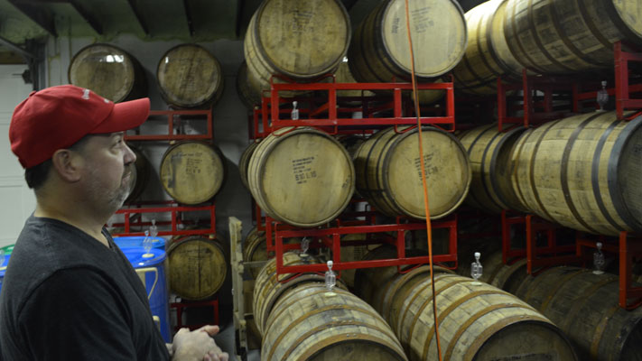 Chris Boyd has turned winemaking into a second career.
