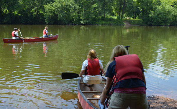 The John James Audubon Center at Mill Grove is offering a guided canoe trip on the Perkiomen Creek this Saturday.