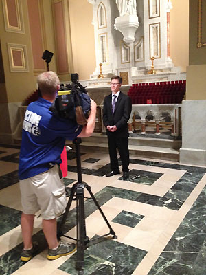 Action News was on-hand at the most recent rehearsal.
