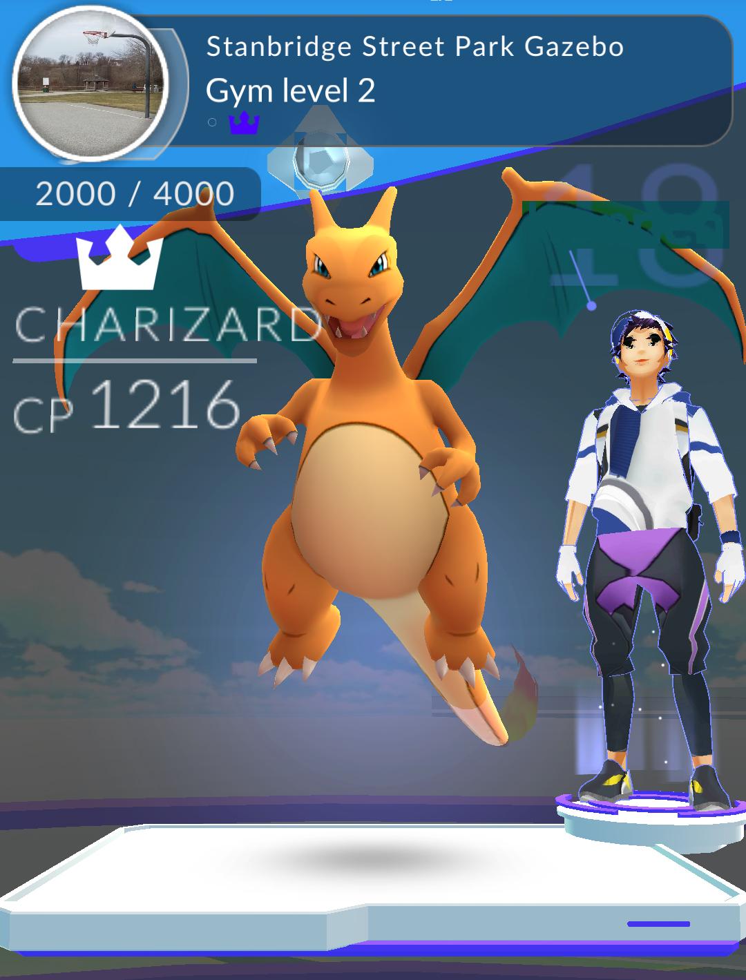 A Fitting Pokémon for the Nearest Gym