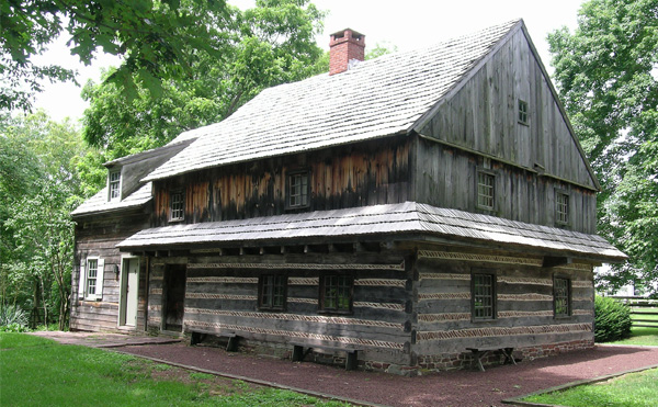 The Morgan Log House