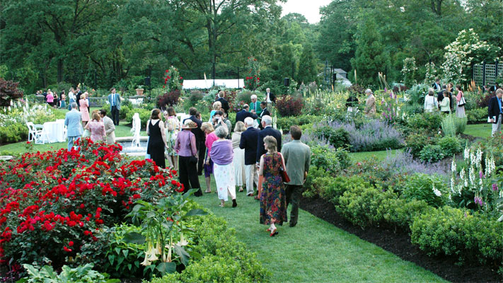 Morris Arboretum hosts its annual Moonlight and Roses fundraiser on Friday.