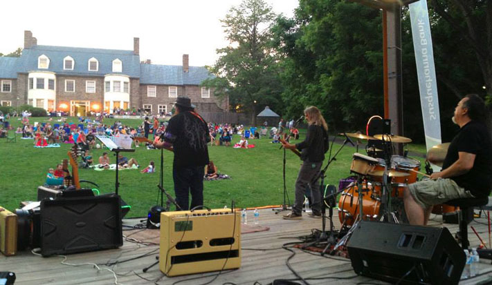 The summer concert series at Abington Art Center kicks off July 14.