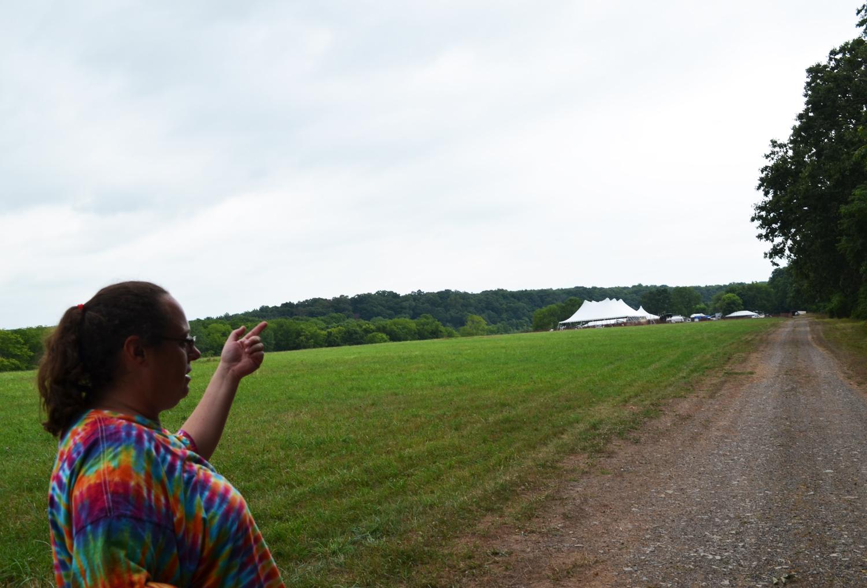 An Empty Field, Soon to Be Full of Festival-Goers