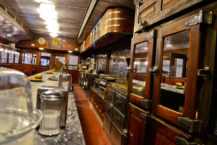 Fegley's Diner inside the Boyertown Museum of Historic Vehicles springs to life this Saturday.