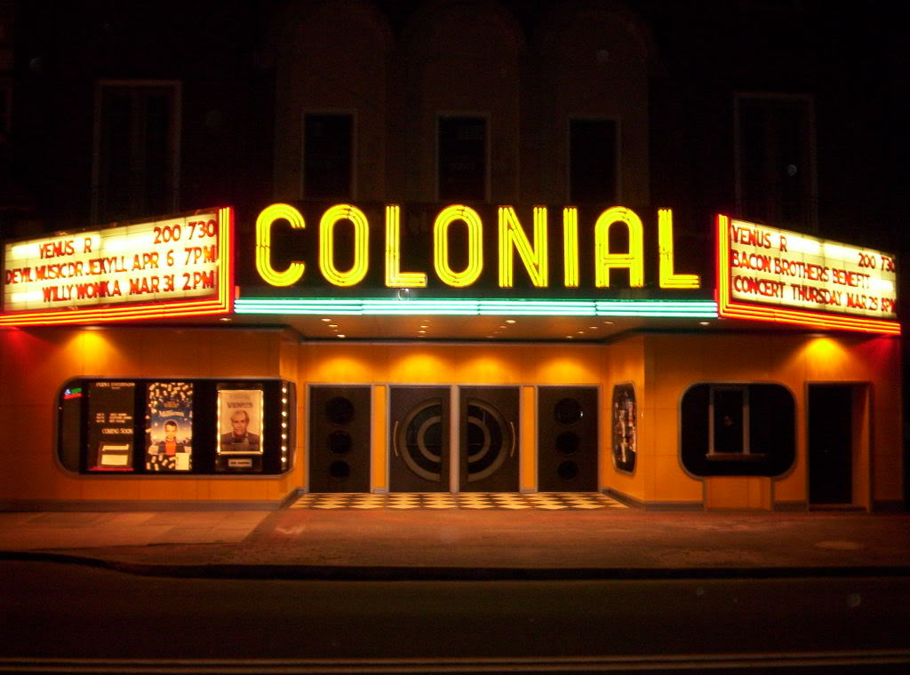 Trade Netflix for a Night at the Colonial Theatre
