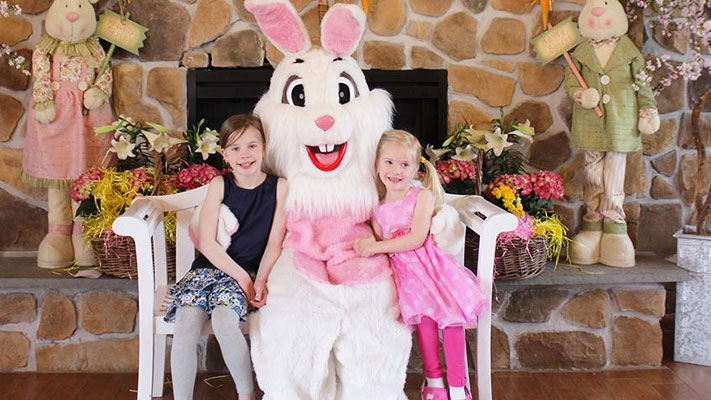 The Easter Bunny arrives at Elmwood Park Zoo this Saturday and Sunday.