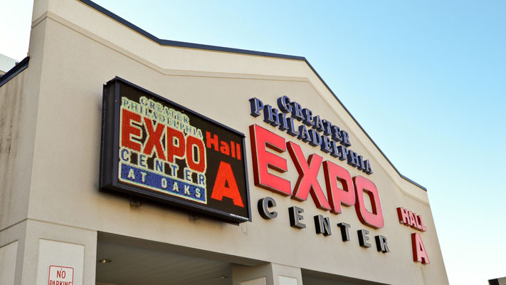 The Greater Philadelphia Expo Center is busy this weekend with two public shows.