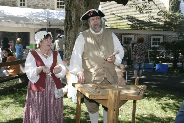 The Harriton Plantation Fair includes colonial interpreters, live bluegrass music and interactive children's activities.