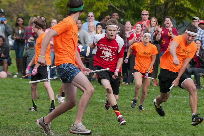The annual Quidditch tournament is one of the highlights of the Harry Potter Conference.
