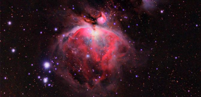 The Orion Nebula, photographed by DVAA member Jack Heely.