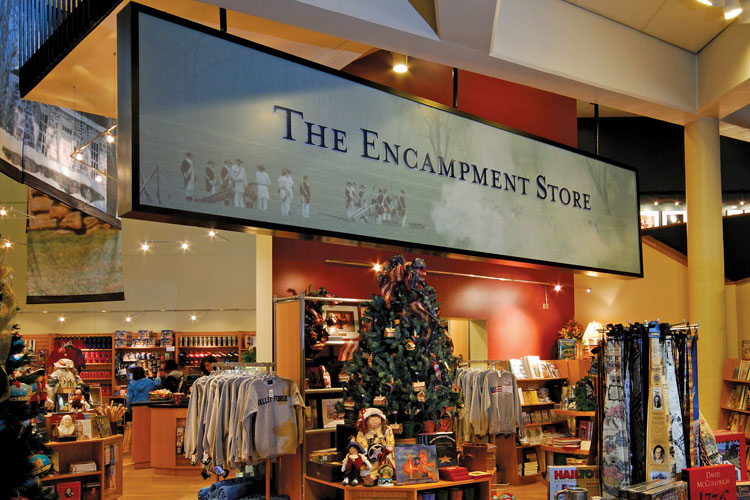 The Encampment Store is offering 10% off to runners after the race