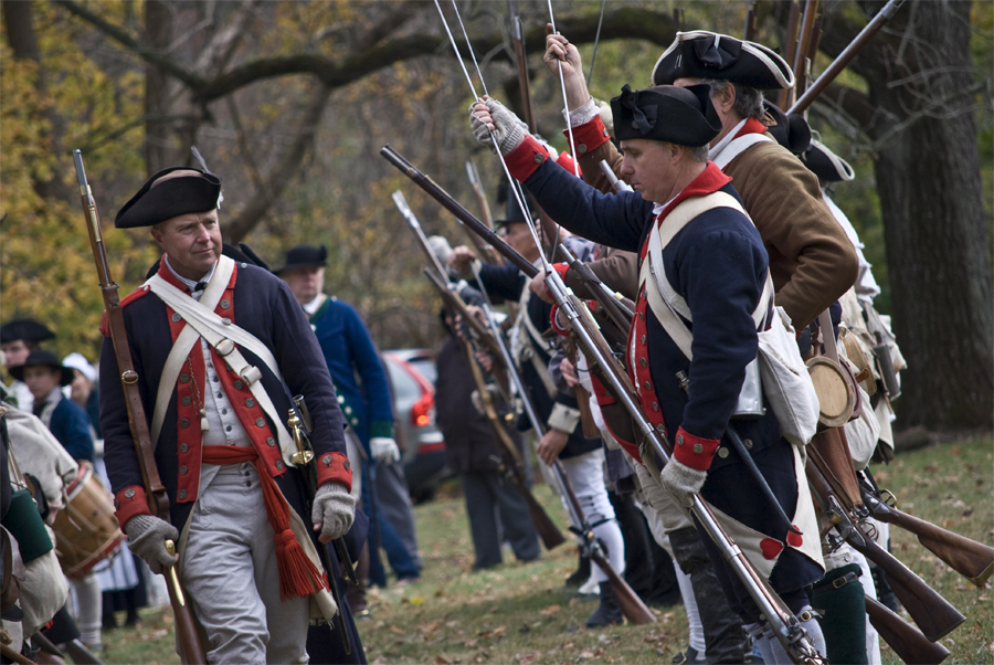 The Revolution comes to life at the annual Whitemarsh Encampment at Hope Lodge.