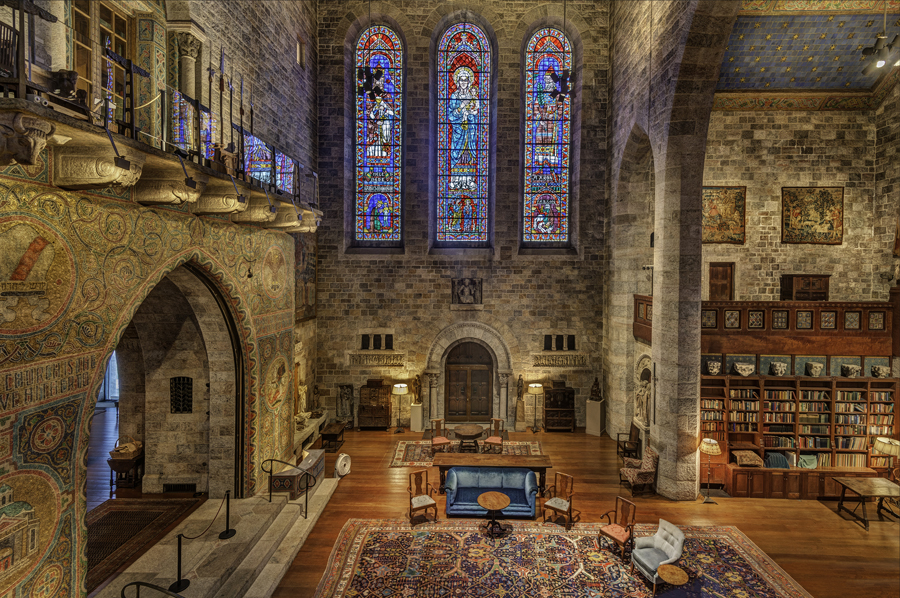 The Great Hall of Glencairn Museum provides a stunning backdrop with amazing acoustics.