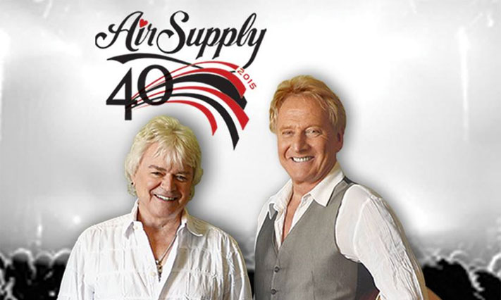 Air Supply's 40th anniversary tour stops at the Valley Forge Casino Resort on August 7 followed by comedian Don Rickles on August 8.