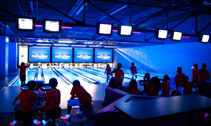 Arnold's Family Fun Center offers bowling, bumper cars, go-karts and more.