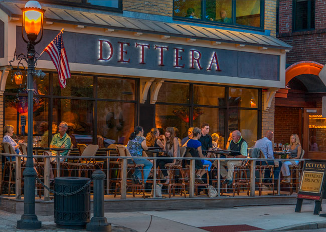 Though you won't be dining al fresco this weekend, Dettera is one of many excellent options to try during Ambler Restaurant Week.