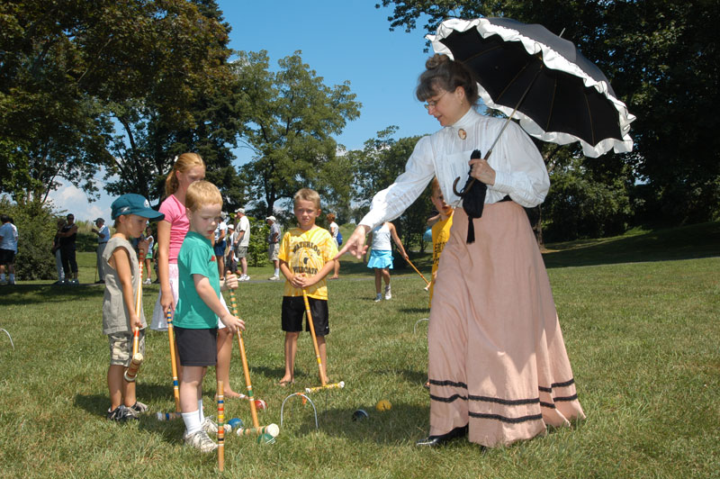 Be a time traveler for a day at Pennypacker Mills August 6.