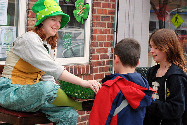 The Great Narberth Leprechaun Hunt sends kids on a scavenger hunt through town on March 12.