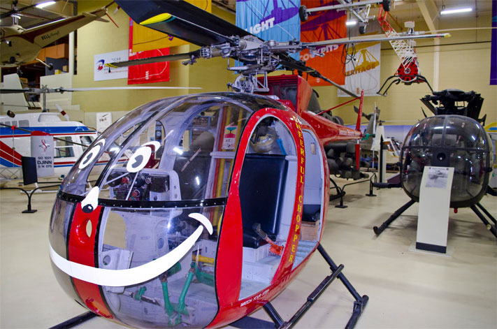 The American Helicopter Museum is offering rides from 1 to 3 p.m. on October 18.